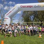Fotos VI Carrera popular Santa Clara categoría prebenjamin niñas