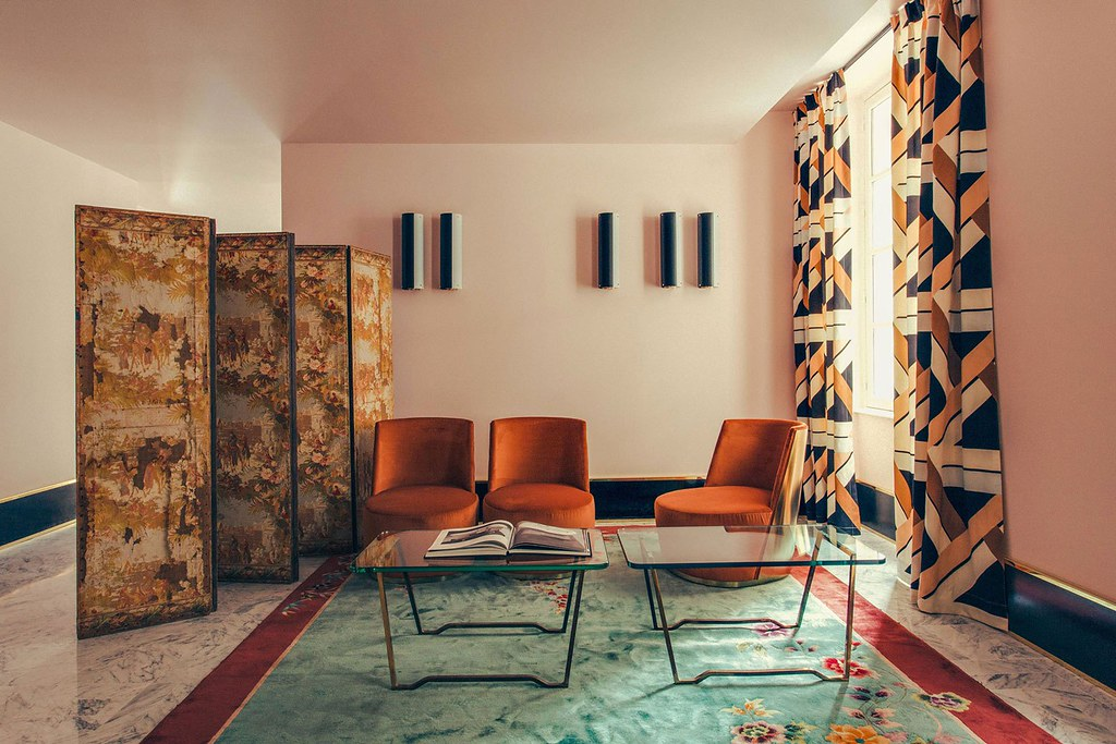 Elegant hotel Saint-Marc in Paris by the Milan design agency DIMORESTUDIO Sundeno_07