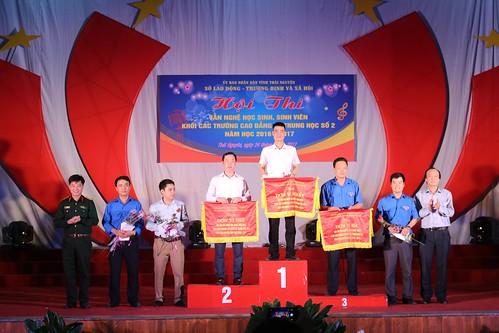 Hội thi văn nghệ Học sinh Sinh viên Khối các trường Cao đẳng và Trung học số 2 tỉnh Thái Nguyên, năm học 2016 – 2017