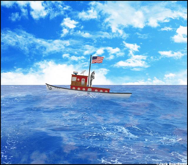 Captain Boomer lost sight of land ©Jack Boardman https://c1.staticflickr.com/3/2915/33585906645_f84bdc9717_o.jpg