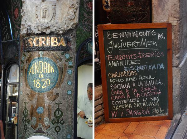 Barcelona, Escriba