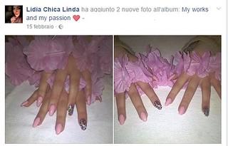 Foto pubblicate su Fb nel giorno del parto e della morte della piccola Chiaraluna