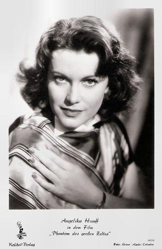 Angelika Hauff in Das Phantom des grossen Zeltes (1954)