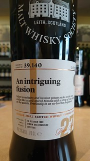 SMWS 39.140 - An intriguing fusion