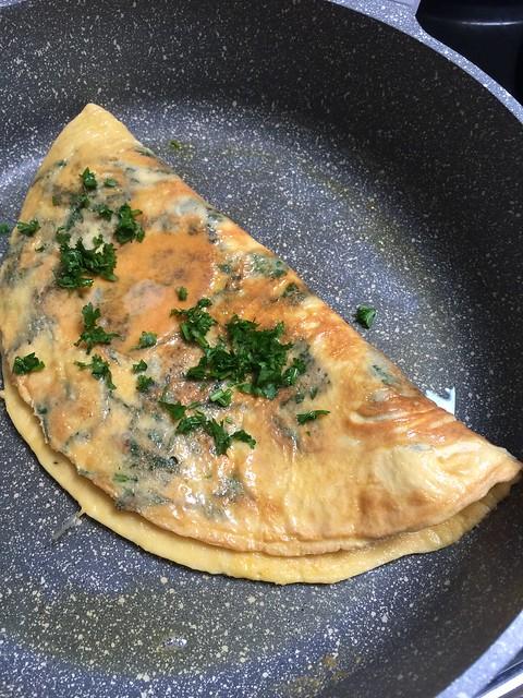 Brennessel, Omelett