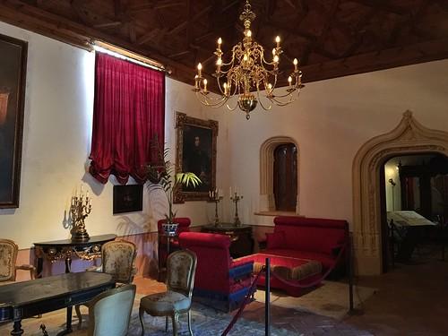 Interior del castillo de Belmonte (Cuenca)