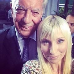 Mario Vargas Llosa y Shirley Varnagy