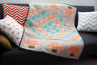 Fox quilt | by What Katie Does