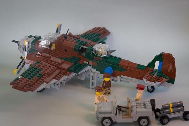 LEGO DAP (Bristol Beaufort) Bomber MOC