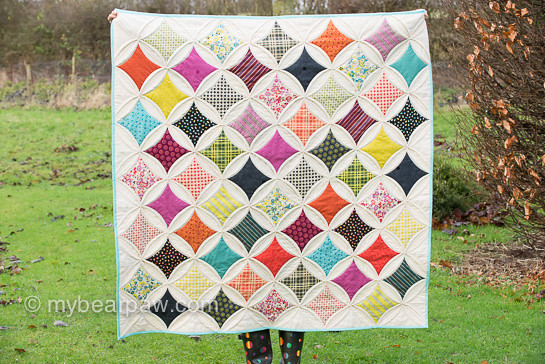 Cathedral Window Quilts /Robbing Peter to Pay Paul /Orange Peel ... : robbing peter to pay paul quilt - Adamdwight.com