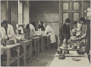 Aarne Pietinen: Pottery making class | by Aalto University Library and Archive Commons