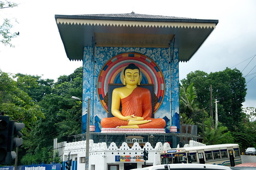 Image result for buddha statue at the entrance of Kandy