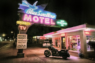 The Blue Swallow Motel, Route 66, Tucumcari, New Mexico | by thelostadventure