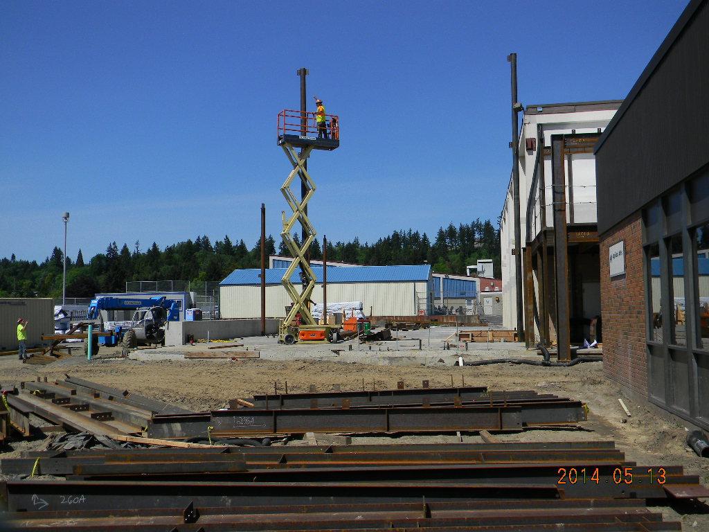 Fitness Center Construction : Gymnasium fitness center construction