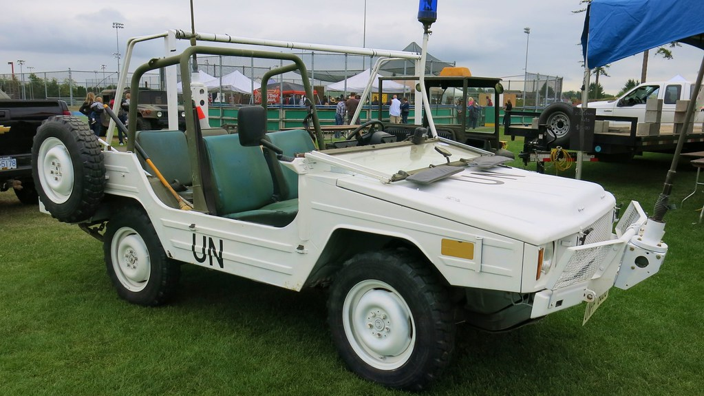 1985 Bombardier / Volkswagen Type 183 Iltis Military Light… | Flickr