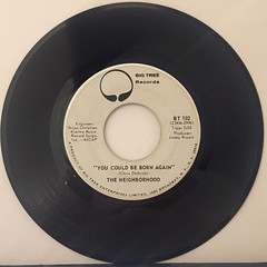 THE NEIGHBORHOOD:BIG YELLOW TAXI(RECORD SIDE-B)