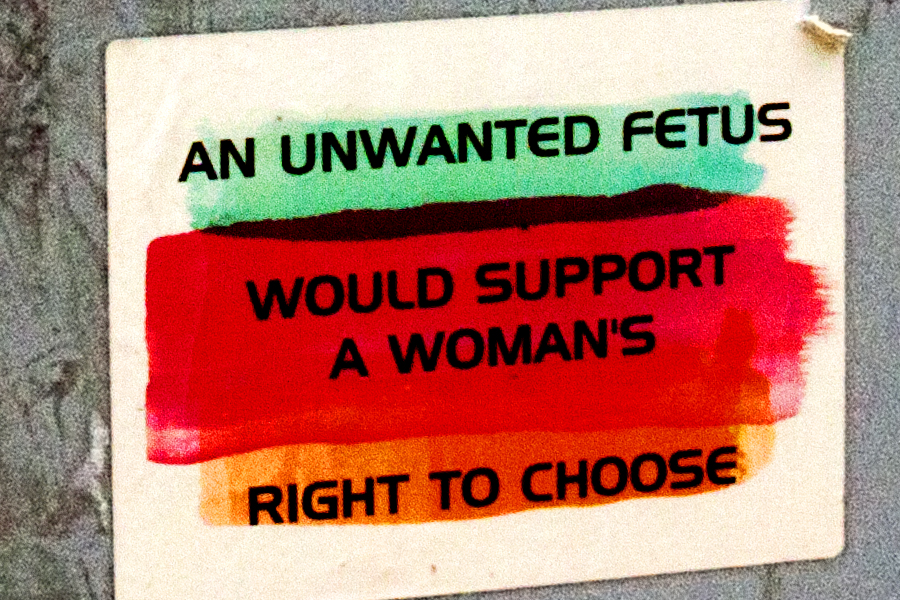 ABORTION ACCESS IS MORE POPULAR THAN DONALD TRUMP--Washington (detail)