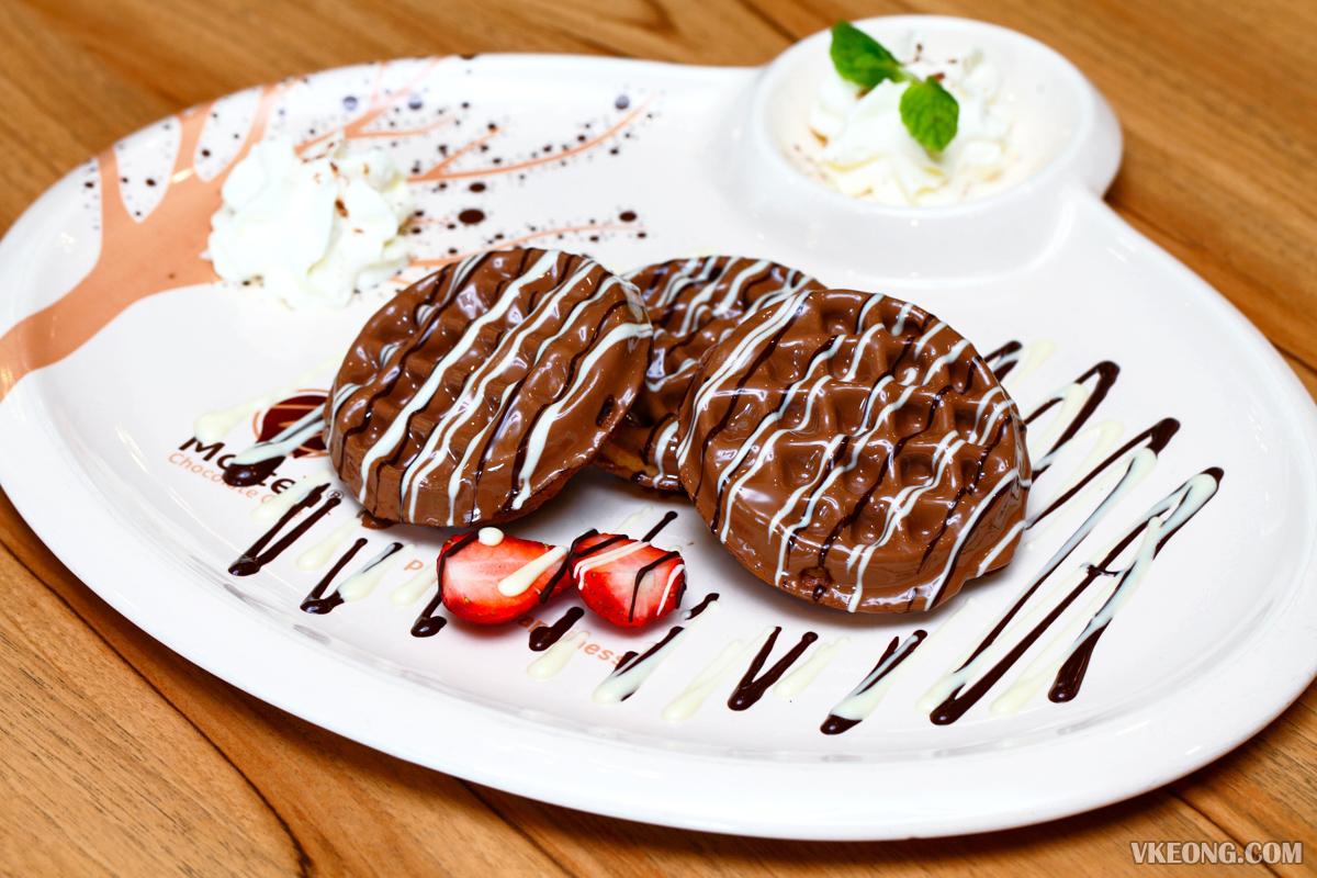 Molten Chocolate Waffle