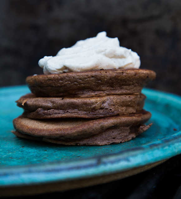 Chocolate Pluff Mud Porter Pancakes