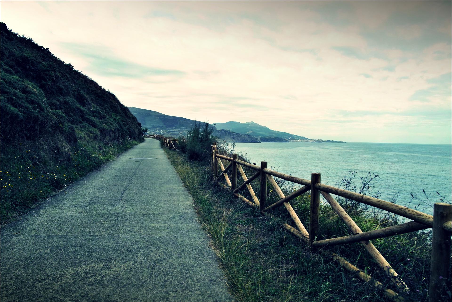 바다 길-'카미노 데 산티아고 북쪽길. 포르투갈레테에서 카스트로 우르디알레스. (Camino del Norte - Portugalete to Castro Urdiales) '