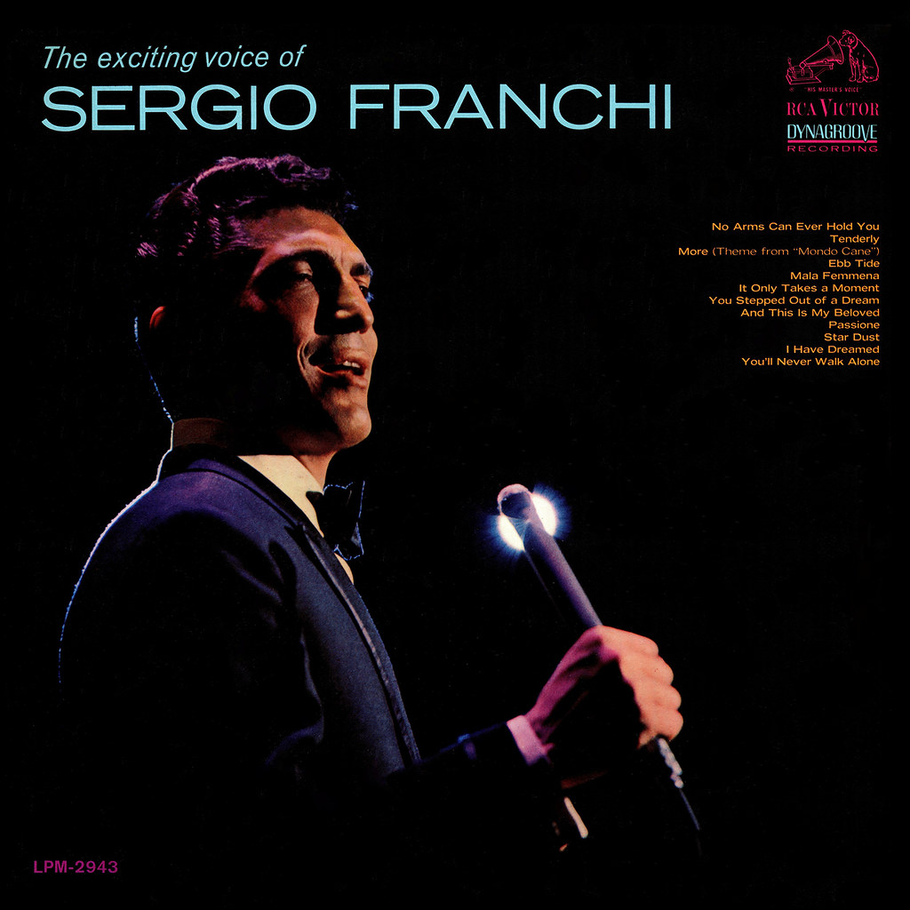 Sergio Franchi - The Exciting Voice of Sergio Franchi