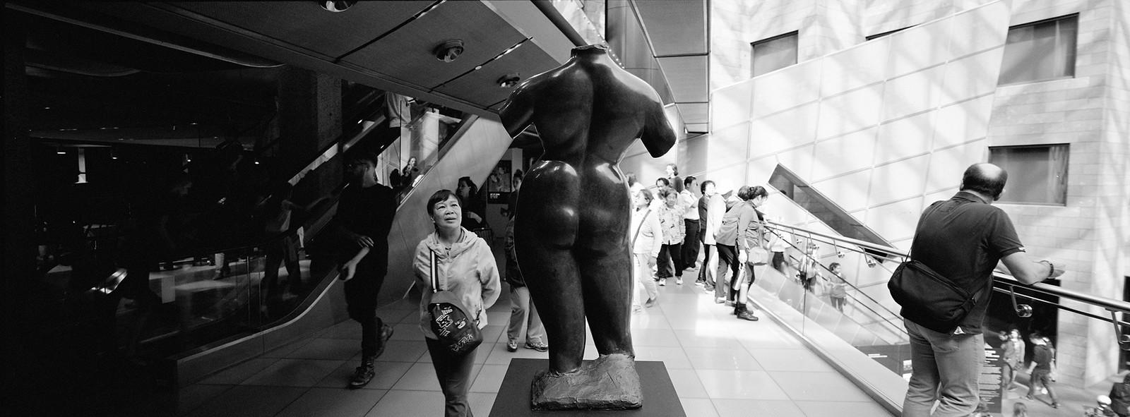 Statue Gazing