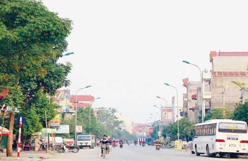 Xây dựng khu đô thị và dịch vụ phía Tây thị trấn Chờ, Bắc Ninh