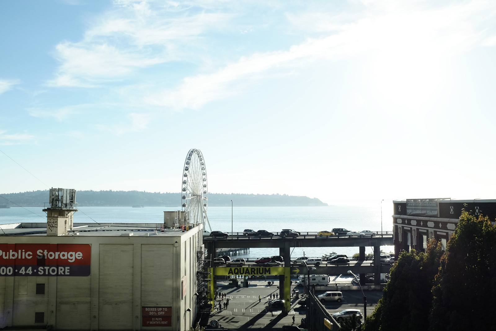 The Seattle taken by FUJIFILM X100S.