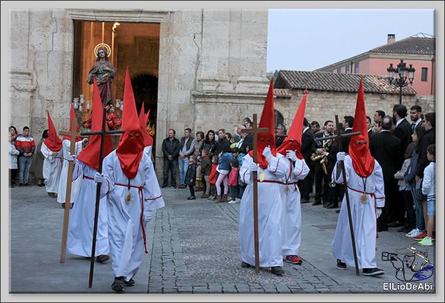 Procesión del Santo Entierro en la Semana Santa de Briviesca 2017 21