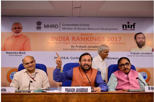 NIRF India Ranking 2017 Announcement