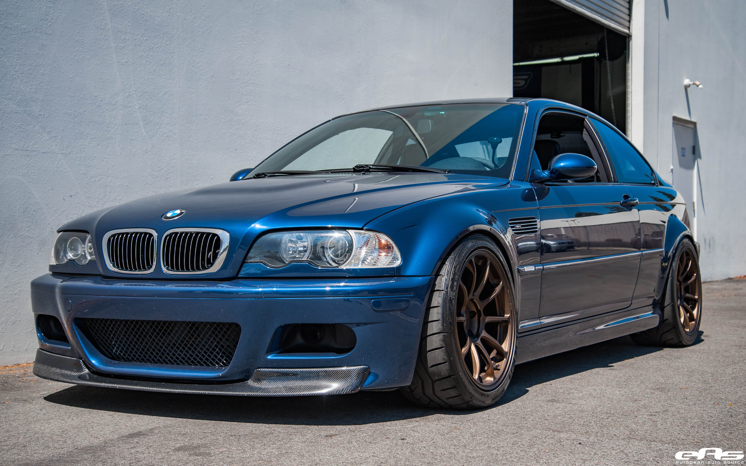 Bmw E46 M3 Mystic Blue >> Mystic Blue E46 M3 - Recaro Sportster, Volk Racing ZE40 | BMW Performance Parts & Services