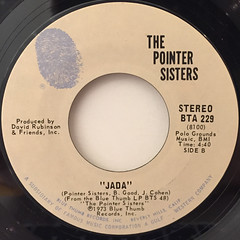 THE POINTER SISTERS:YES WE CAN CAN(LABEL SIDE-B)