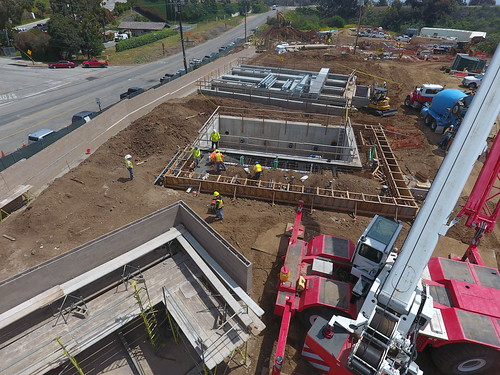 Civic Center Wastewater Treatment Facility Construction Progress - April 2017