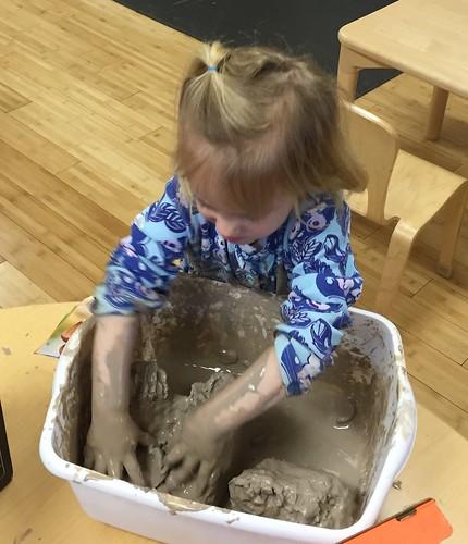 sloppy clay fun