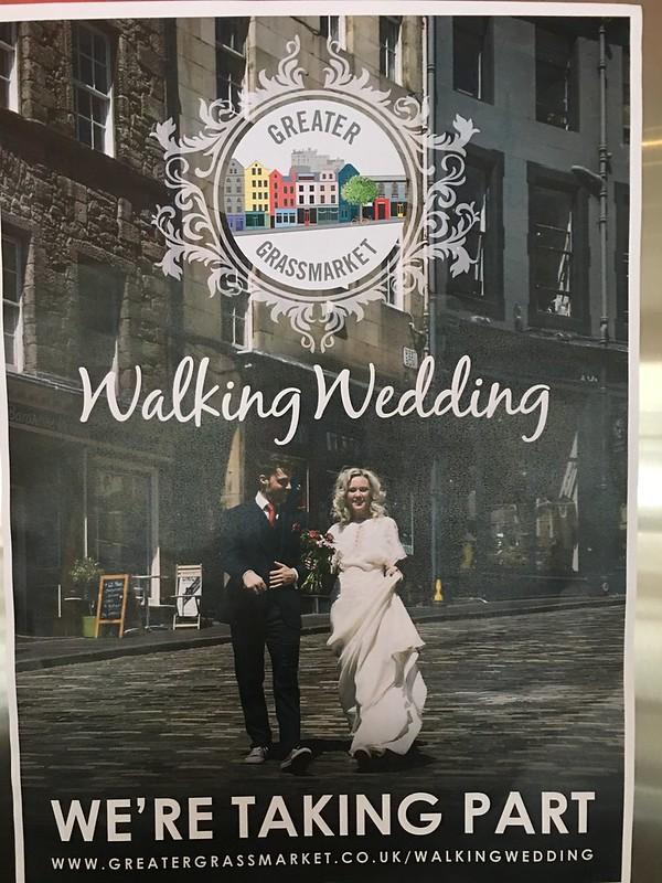 Edinburgh,  Walking Wedding