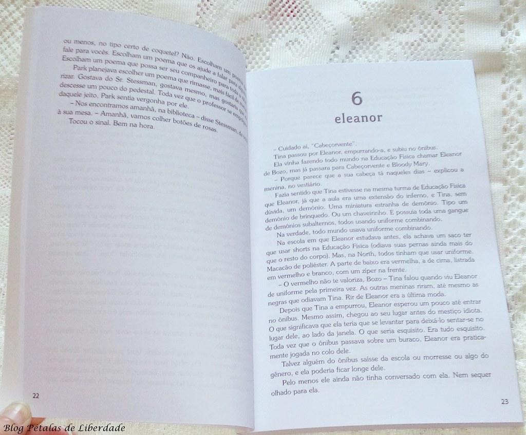 diagramação, livro, edição-econômica, eleanor-e-park, avon, foto