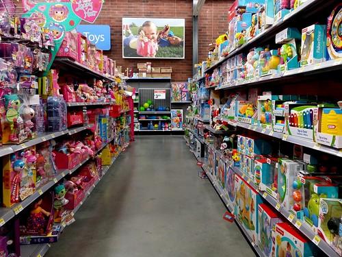 Boy Toys Toys R Us Aisles : Walmart on georgia avenue nw in washington dc toy aisle