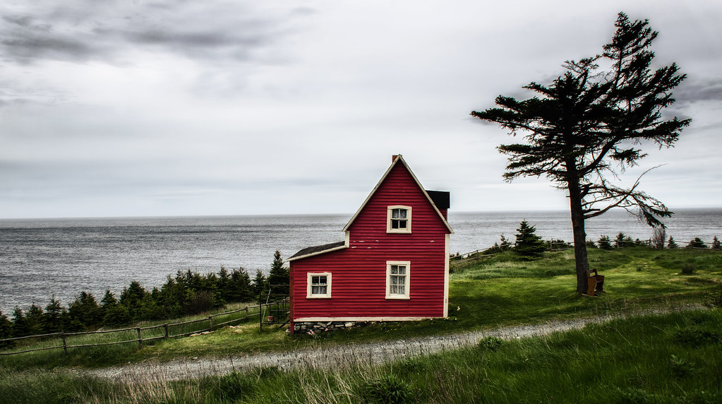 Little Red House Tors Cove Newfoundland Brian