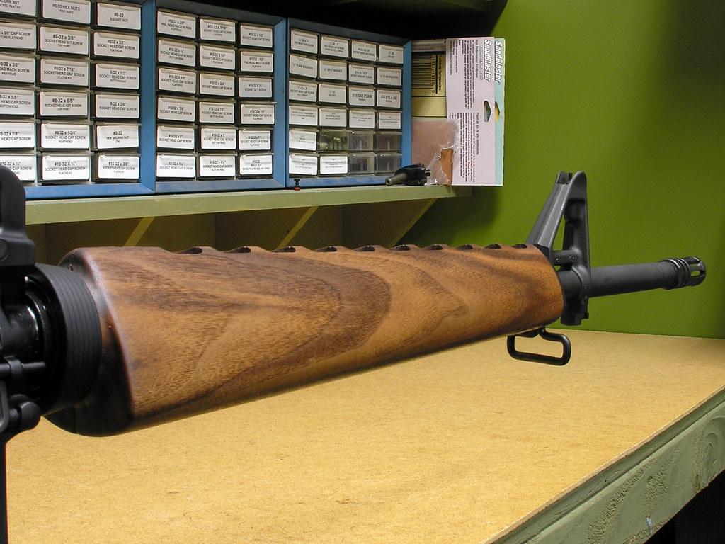 Ironwood Designs Finished Handguard Installed Buffed