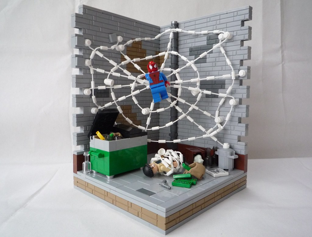 spiderman web city showdown how to build