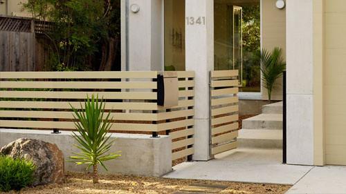 pagar rumah kayu minimalis 4 pagar rumah kayu