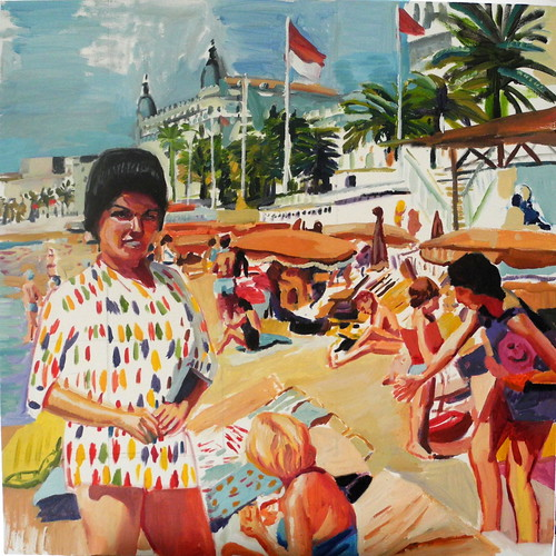 beach scene (Cannes)