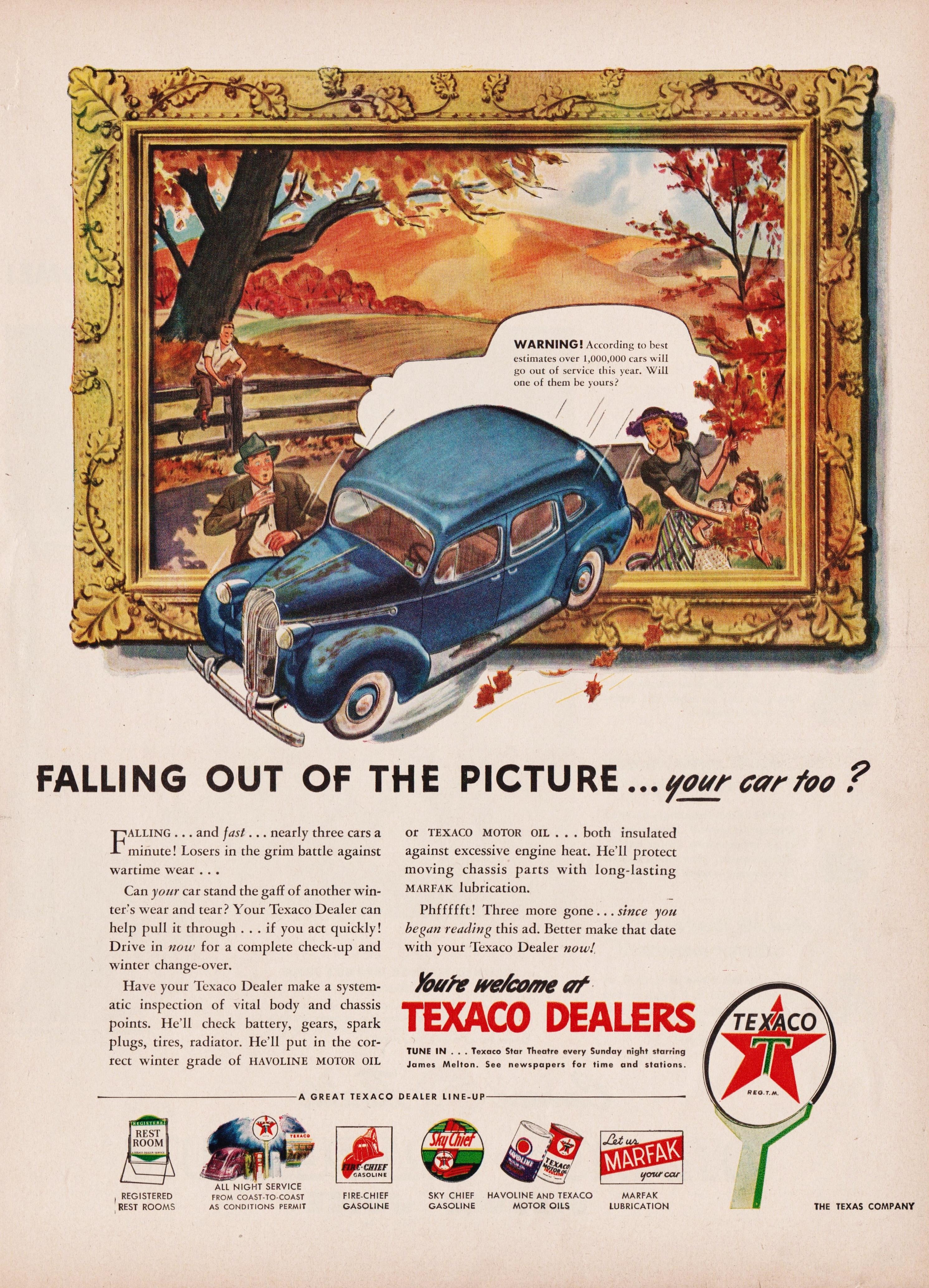 Texaco - 1945