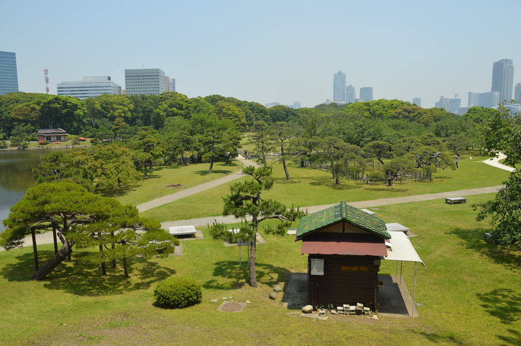 Hama-rikyu Gardens  Hama-rikyu Gardens, Chuo, former family…  Flickr