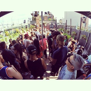 Rooftop party @ Williamsburg #imonaroof | by felipesimon