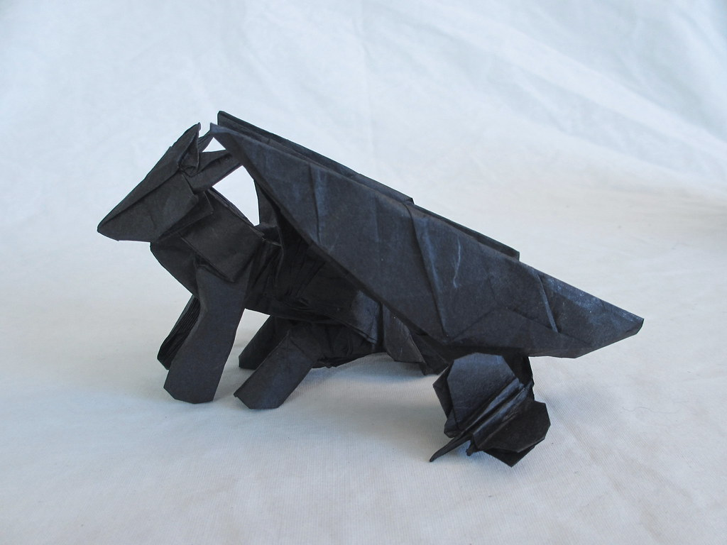 Toothless side | CahoonasOrigami | Flickr - photo#49