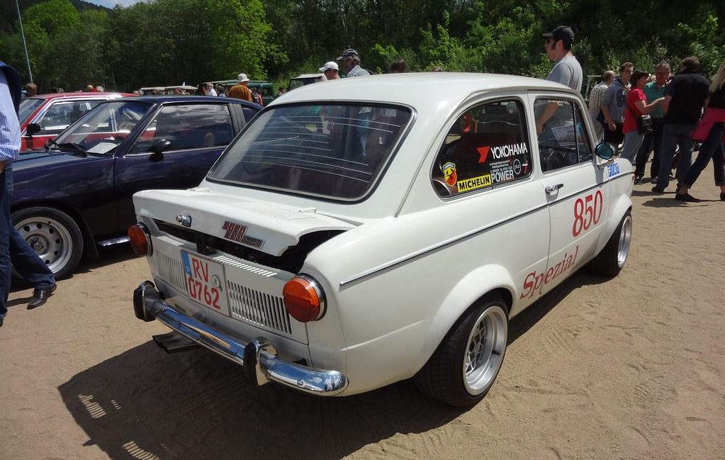 Old Fiat Race Car