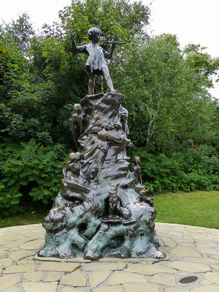 Peter Pan, by George Frampton in 1912. Kensington Gardens.… | Flickr