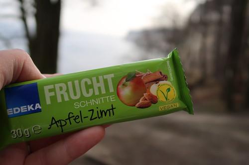 Fruchtschnitte Apfel-Zimt (zur Stärkung auf der Wanderung von Sassnitz zum Königsstuhl)