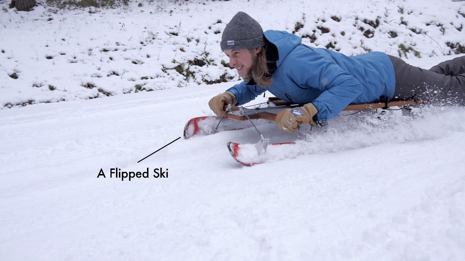 Flipped Ski
